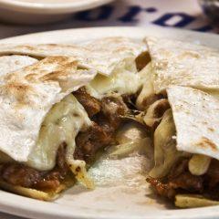 Quesadilla de Bistec en Restaurante mexicano Rivas Vaciamadrid