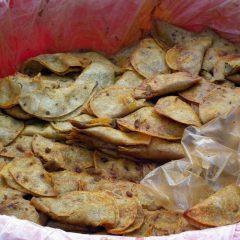 Tacos de canasta con carne Rivas Vaciamadrid
